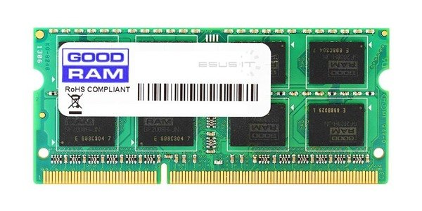 Memory RAM 1x 1GB GoodRAM SO-DIMM DDR2 800MHz PC2-6400 | GR800S264L5/1G