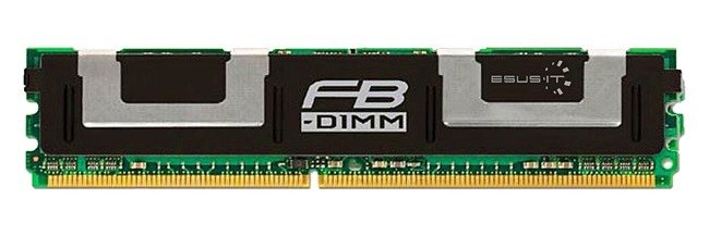 Memory RAM 1x 4GB ELPIDA ECC FULLY BUFFERED DDR2 667MHz PC2-5300 FBDIMM | EBE41FE4ABHD-6E-E